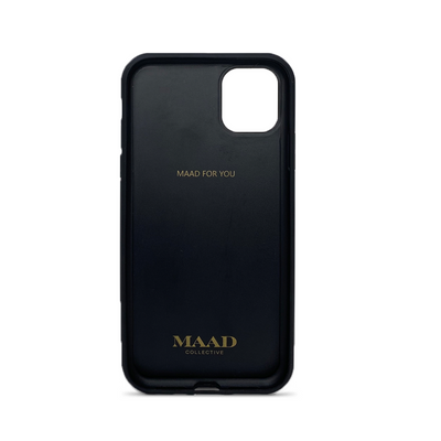 MAAD Classic - Red IPhone 11 Pro Max Leather Case