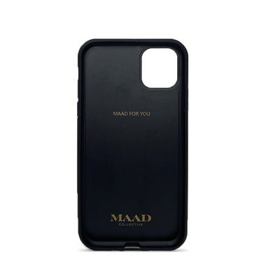MAAD Classic - All Baby Blue IPhone 11 Pro Leather Case