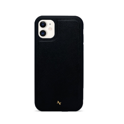 MAAD Classic - Black IPhone 11 Leather Case