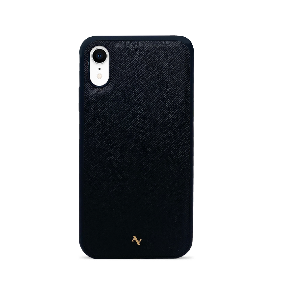 MAAD Classic - Black IPhone XR Leather Case