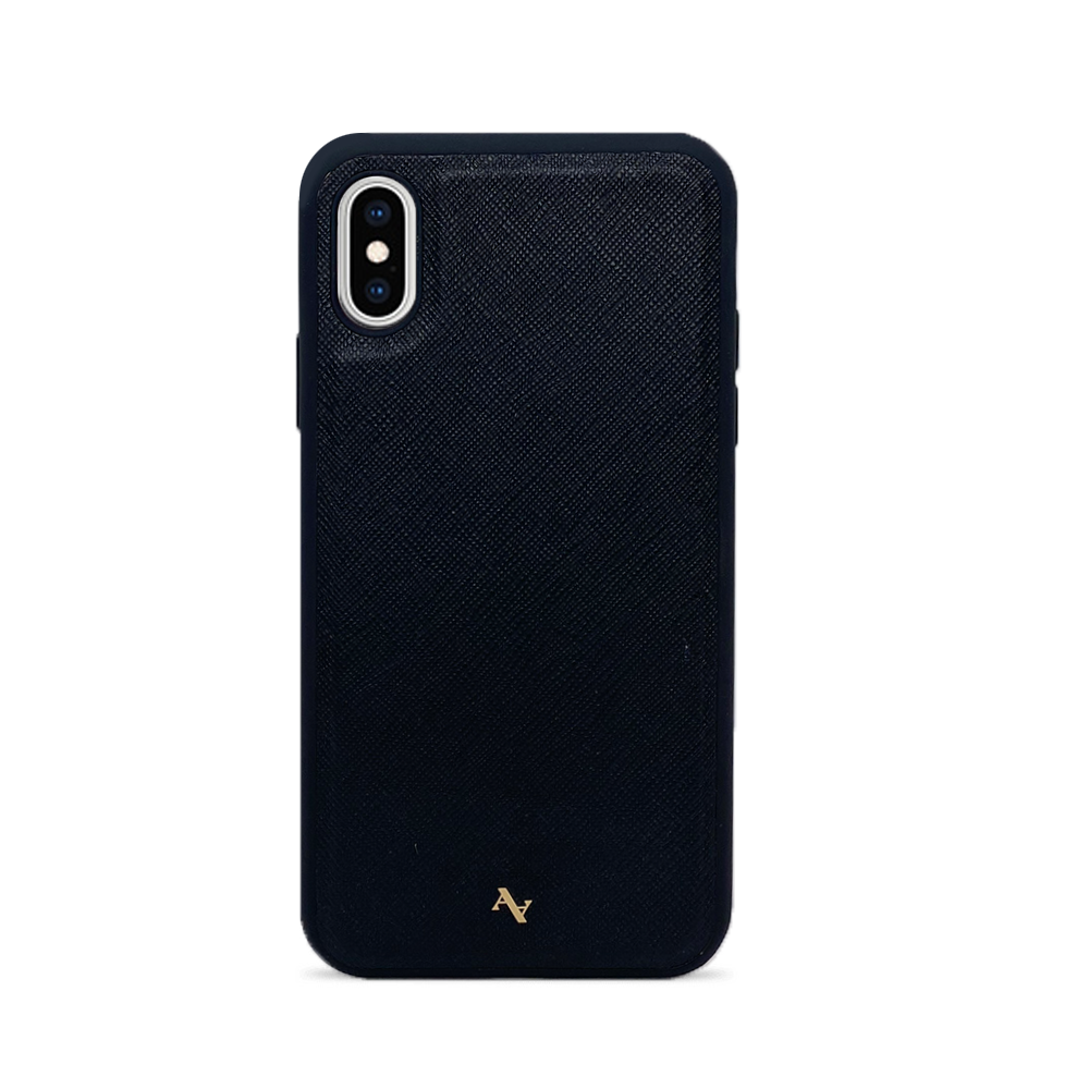 MAAD Classic - Black IPhone X/XS Leather Case