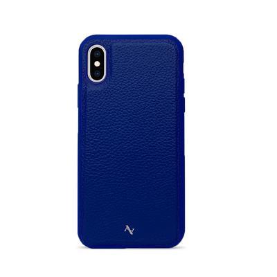 MAAD Classic - All Blue IPhone X/XS Leather Case