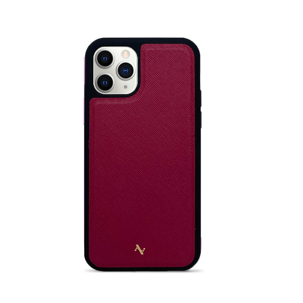MAAD Classic - Red IPhone 11 Pro Leather Case