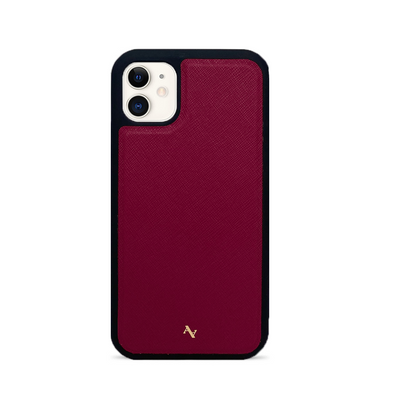 MAAD Classic - Red IPhone 11 Leather Case