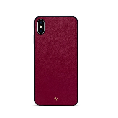 MAAD Classic - Red IPhone XS Max Leather Case
