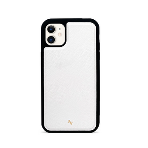 MAAD Classic - White IPhone 11 Leather Case