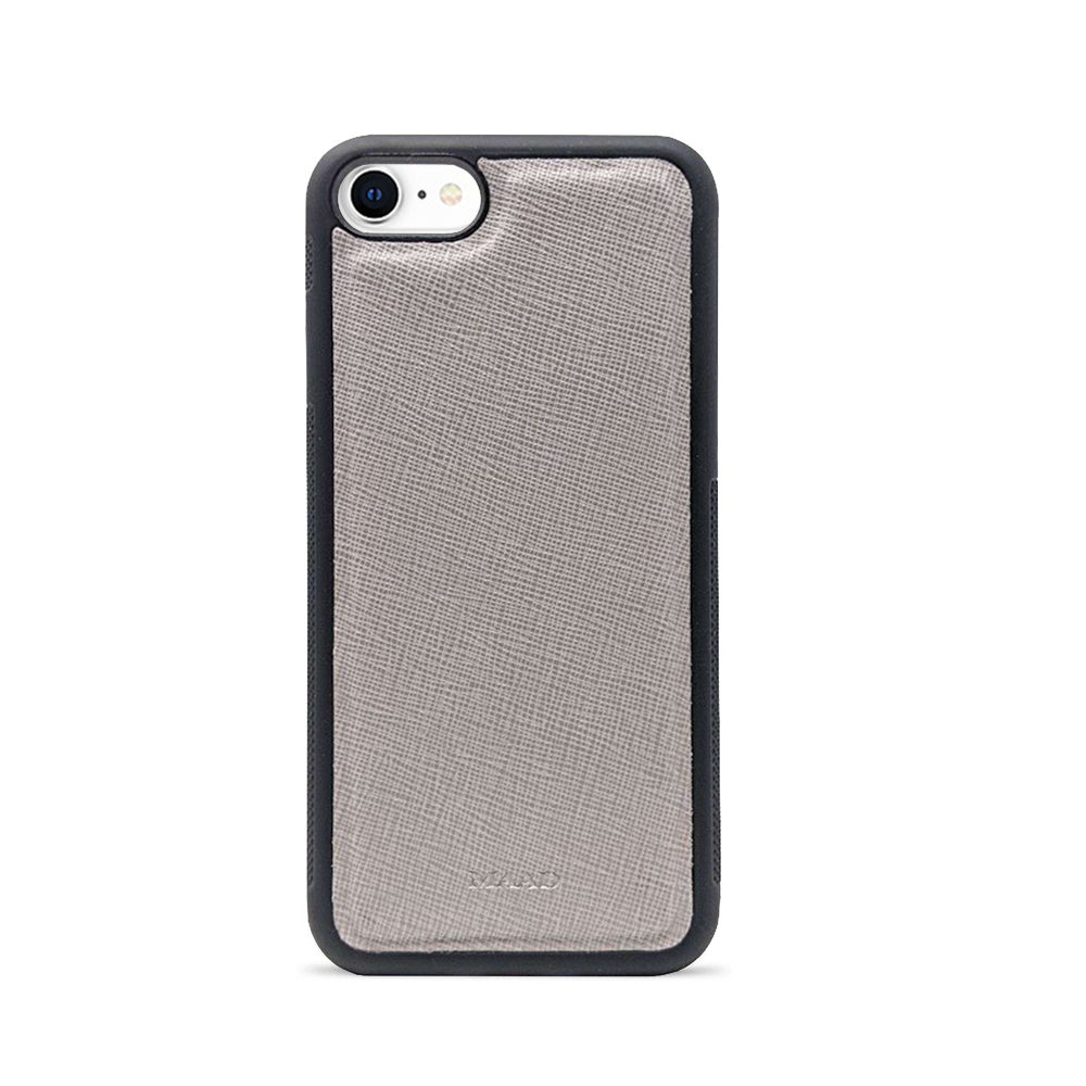 Saffiano - Grey IPhone 7/8/SE Case