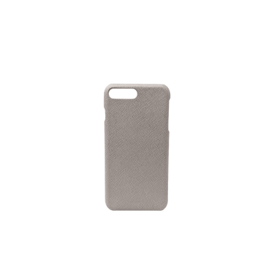 For All - Grey IPhone 7/8 Plus Case - MAAD Collective - Saffiano IPhone Personalized Case