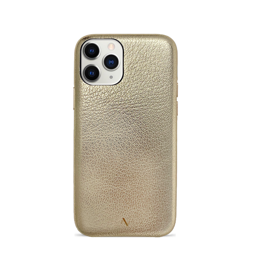 Pebble - Gold Metallic IPhone 11 Pro Case