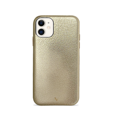Pebble - Gold Metallic IPhone 11 Case