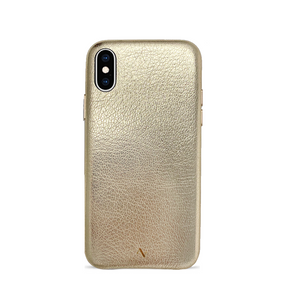 Pebble - Gold Metallic IPhone X/XS Case