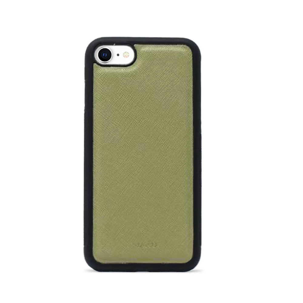 Saffiano - Green IPhone 7/8/SE Case
