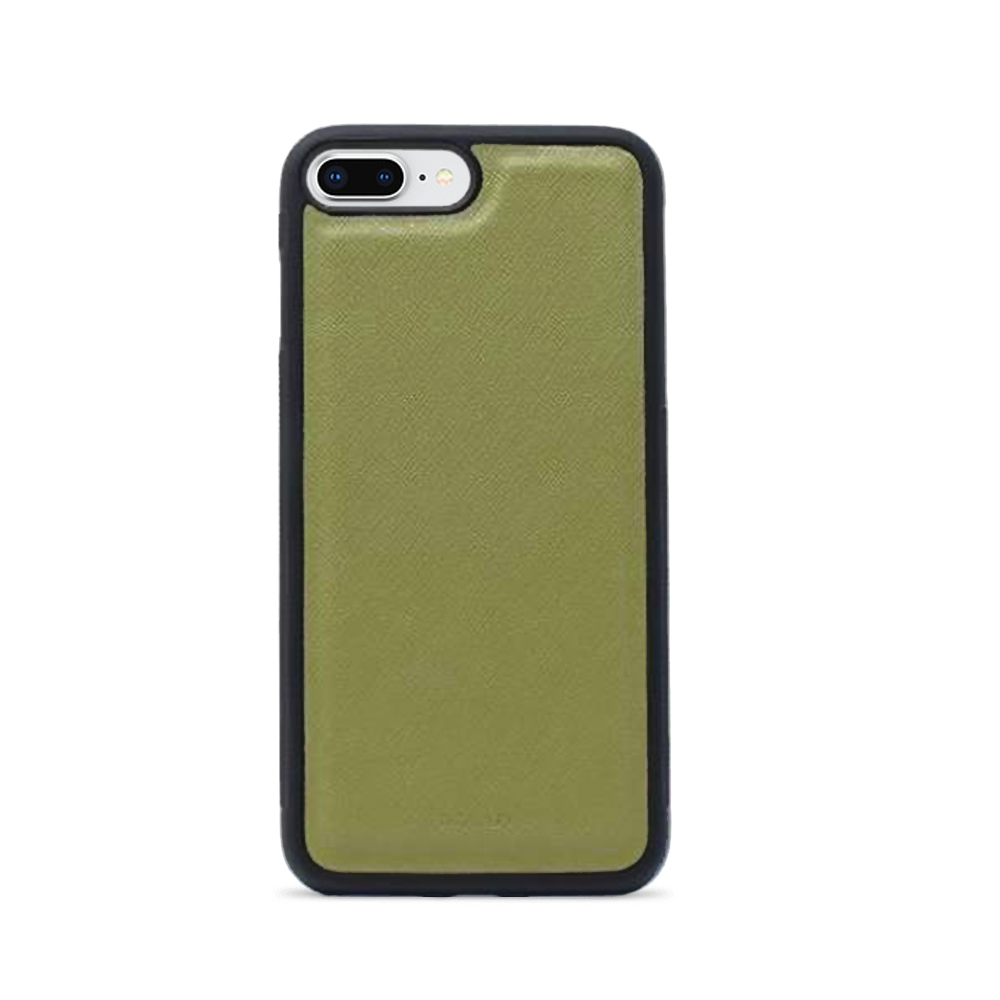 Saffiano - Funda Verde IPhone 7/8 Plus