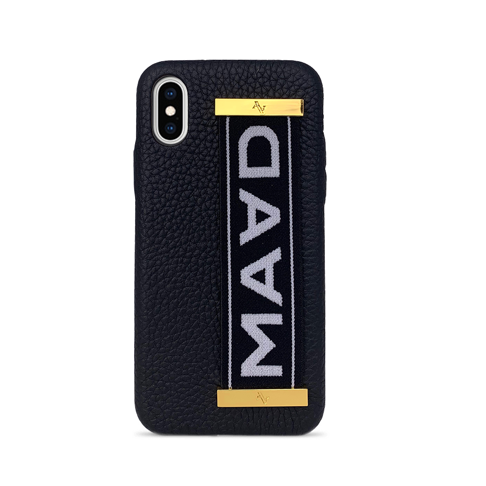 MAAD LVR Black IPhone X/XS Case