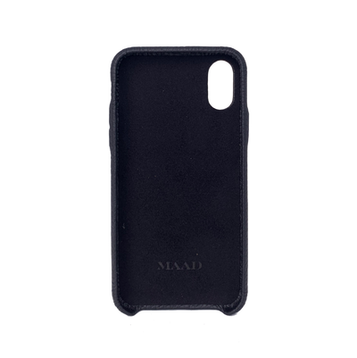 MAAD LVR Black IPhone X/XS Case - MAAD Collective - Saffiano IPhone Personalized Case