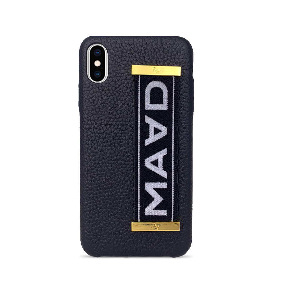 MAAD LVR - Funda Negra iPhone Xs Max