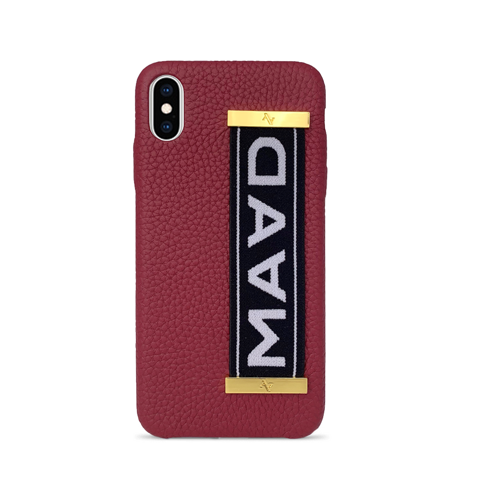MAAD LVR - Funda Roja iPhone Xs Max