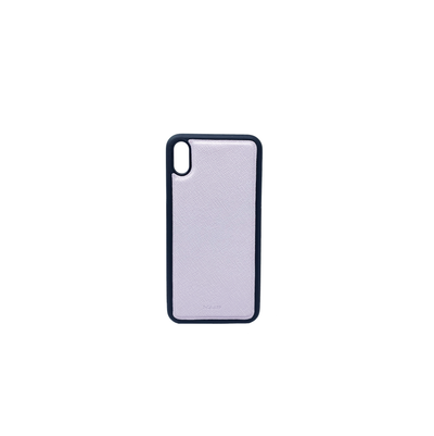 Lilac IPhone XS Max Case - MAAD Collective - Saffiano IPhone Personalized Case