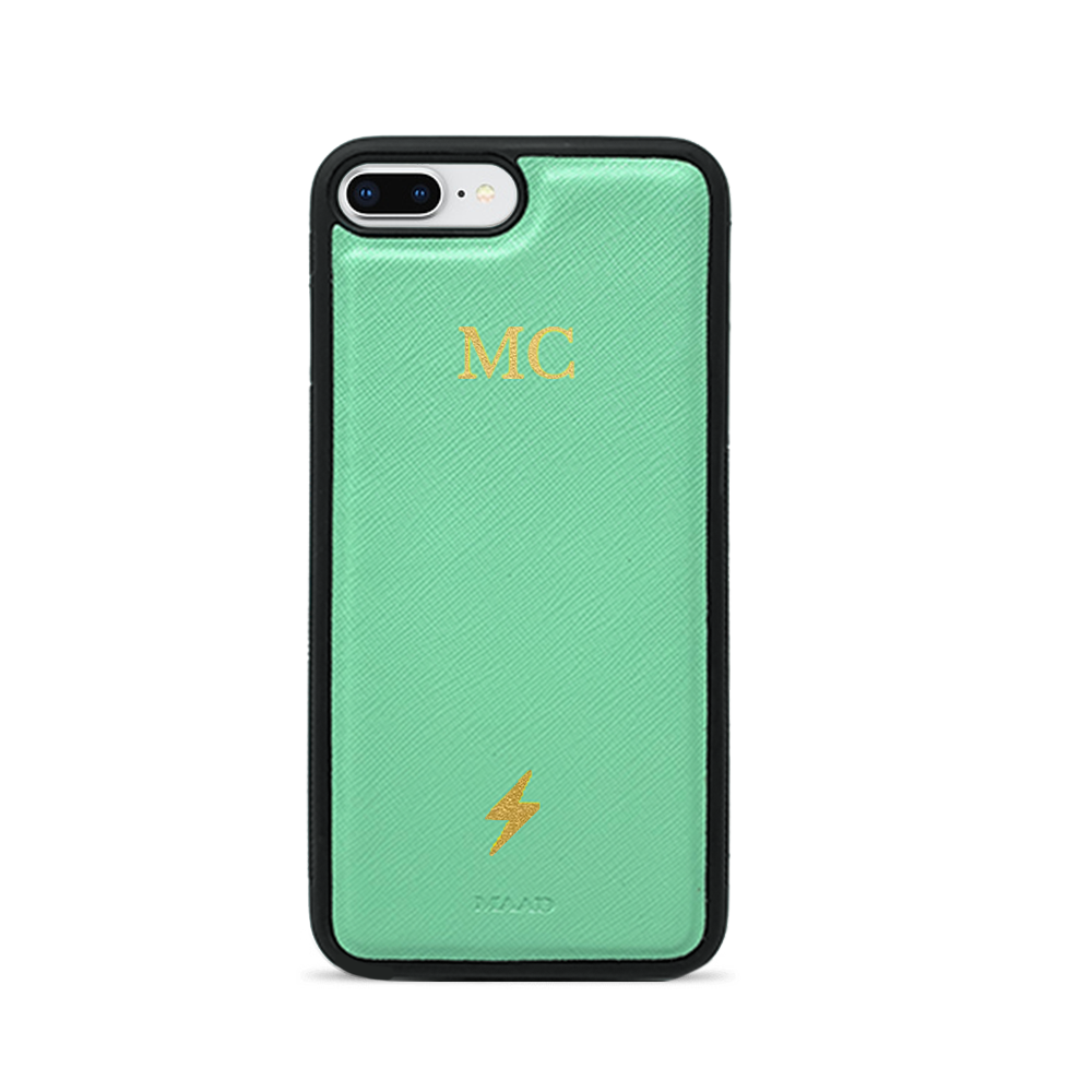 Saffiano - Funda Menta IPhone 7/8 Plus