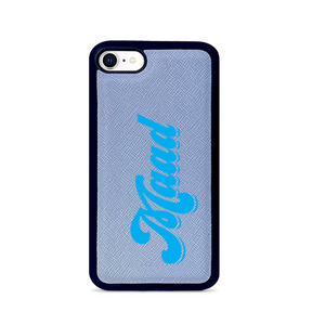 Saffiano - Baby Blue IPhone 7/8/SE Case