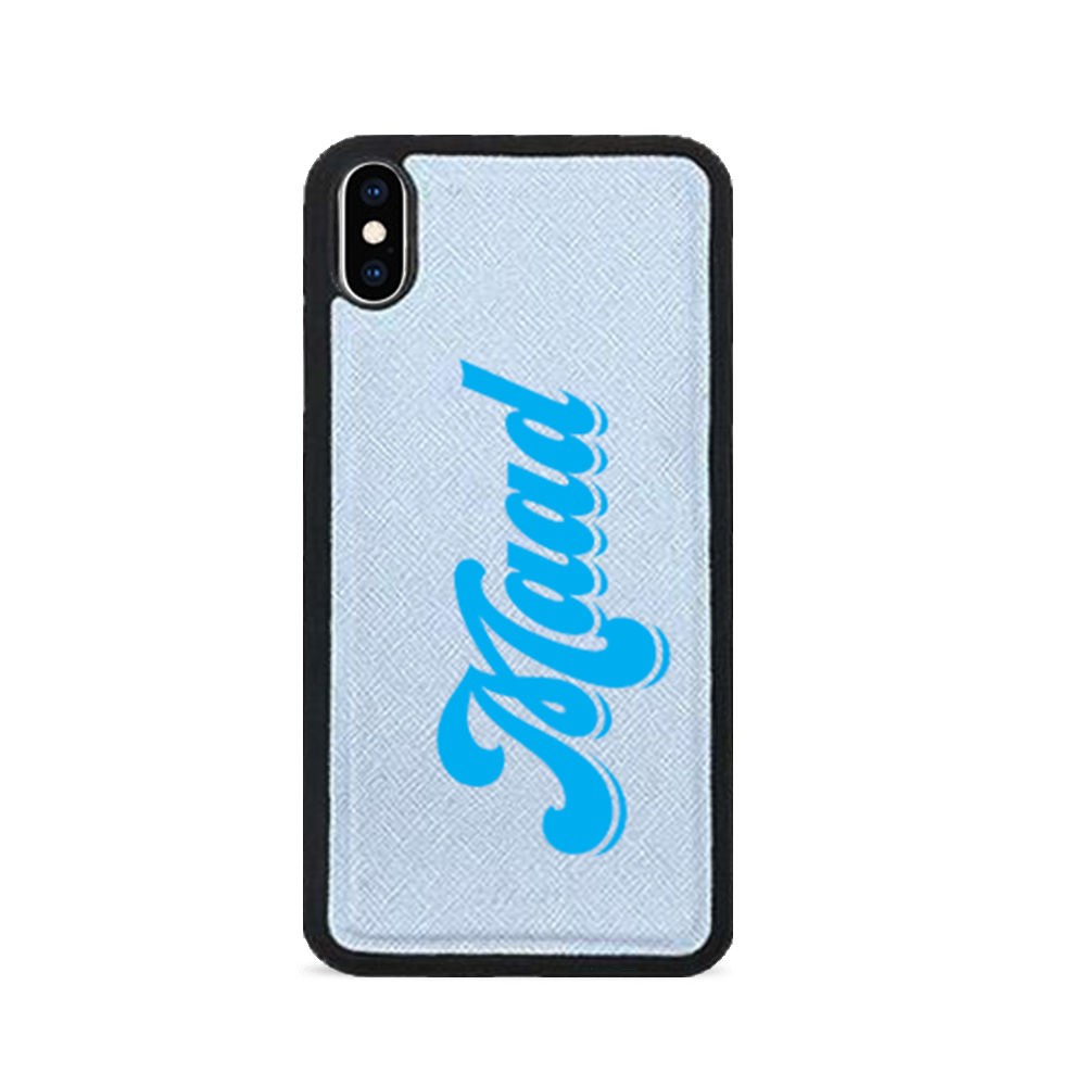 Saffiano - Baby Blue IPhone XS MAX Case