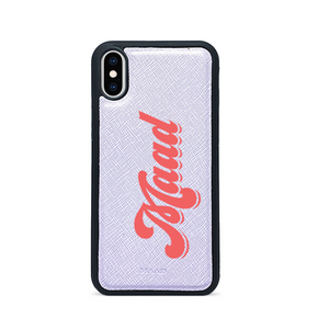 Saffiano - Lilac IPhone X/XS Case