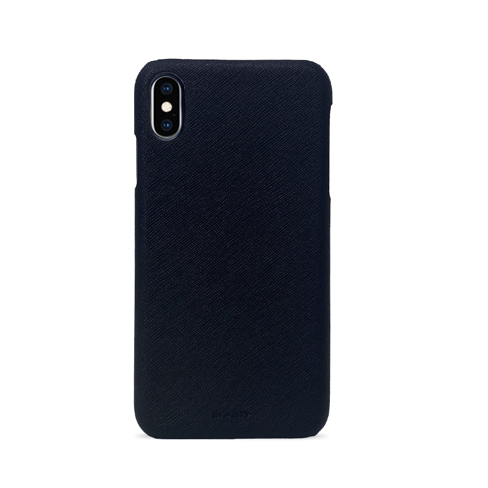 For All - Black IPhone XS MAX Case - MAAD Collective - Saffiano IPhone Personalized Case