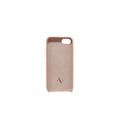 Pebble - Nude IPhone 7/8 Case - MAAD Collective - Saffiano IPhone Personalized Case