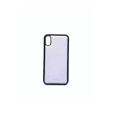 Lilac IPhone X/XS Case - MAAD Collective - Saffiano IPhone Personalized Case