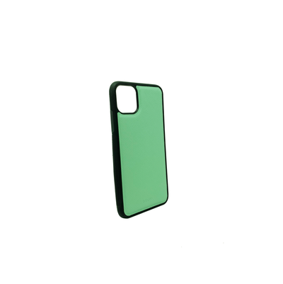Mint IPhone 11 Pro Max Case - MAAD Collective - Saffiano IPhone Personalized Case