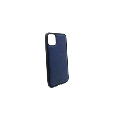 Navy Blue IPhone 11 Case - MAAD Collective - Saffiano IPhone Personalized Case