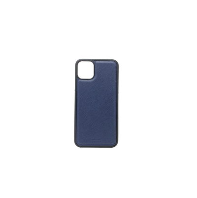 Navy Blue IPhone 11 Pro Max Case - MAAD Collective - Saffiano IPhone Personalized Case