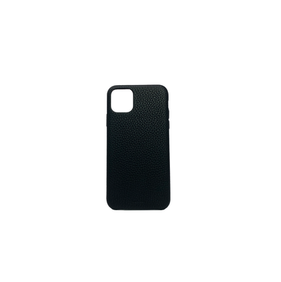 Pebble - Black IPhone 11 Pro Max Case - MAAD Collective - Saffiano IPhone Personalized Case