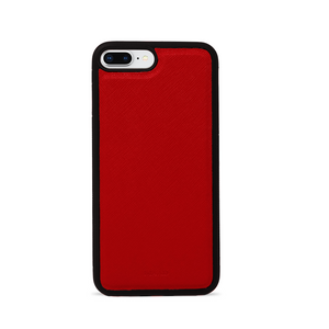 Saffiano - Vivid Red IPhone 7/8 Plus Case