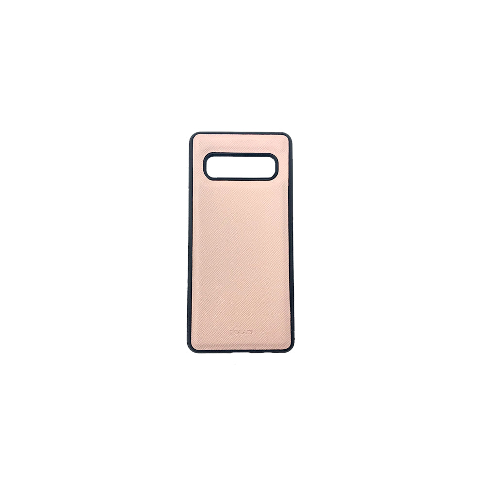 Nude Samsung Galaxy S10 - MAAD Collective - Saffiano IPhone Personalized Case