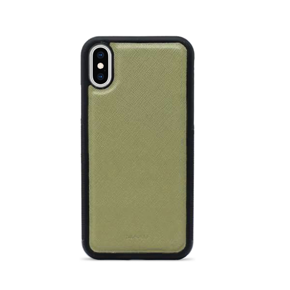 Saffiano - Funda Verde IPhone XS Max