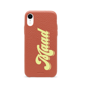 Pebble - Funda Terracotta iPhone Xr