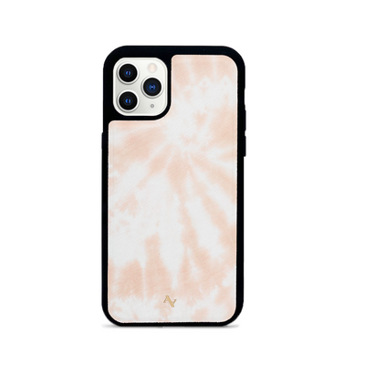 Tie Dye Melon Fever - IPhone 11 Pro Leather Case