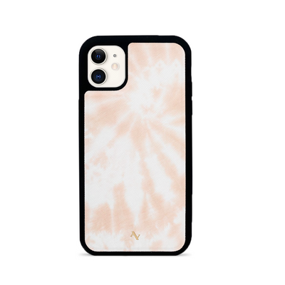Tie Dye Melon Fever - IPhone 11 Leather Case