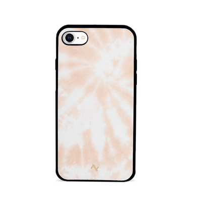 Tie Dye Melon Fever - IPhone 7/8/SE Leather Case
