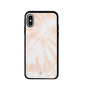 Tie Dye Melon Fever - IPhone X/XS Leather Case