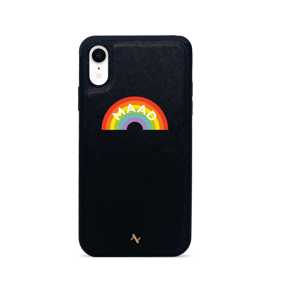 MAAD Fun - Black IPhone XR Case
