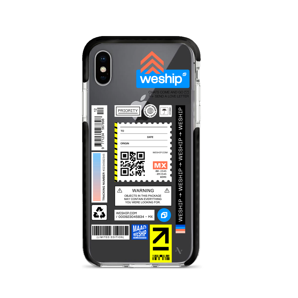 WeShip x MAAD - IPhone X/XS Clear Case