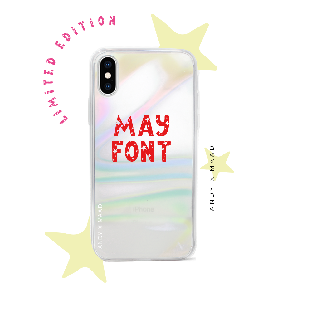 Monthly Font - IPhone X/XS Starry Case