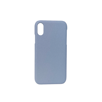 For All - Baby Blue IPhone XR Case - MAAD Collective - Saffiano IPhone Personalized Case