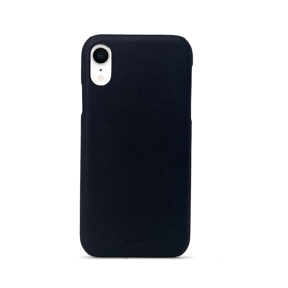For All - Black IPhone XR Case - MAAD Collective - Saffiano IPhone Personalized Case