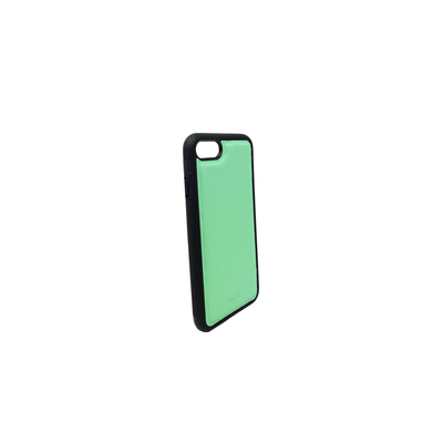 Mint IPhone 7/8 Case - MAAD Collective - Saffiano IPhone Personalized Case