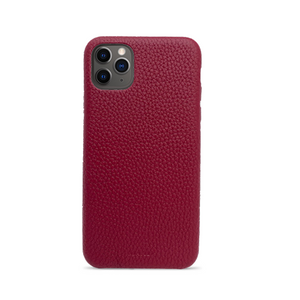 Pebble - Funda Roja iPhone 11 Pro Max