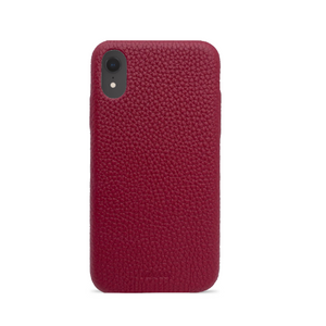 Pebble - Funda Roja iPhone Xr