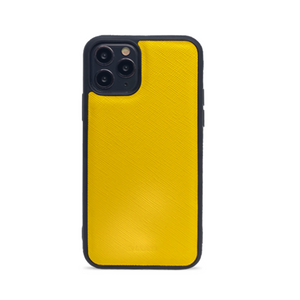 Saffiano - Yellow IPhone 11 Pro Case